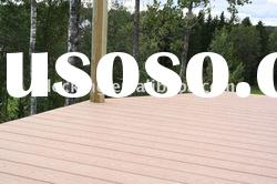 Composite decking floor -- WPC composite material