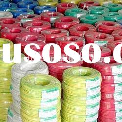 Copper conductor Electrical Wire/ PVC Wire/2x1.00mm
