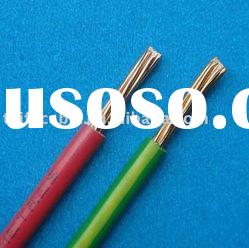 Copper conductor PVC Electrical WIre/ Building Wire/300/500V