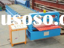 Corrugated roof panel roll forming machine XF850