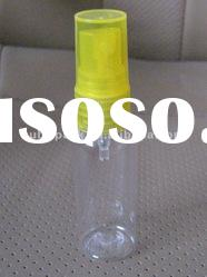 Cylinder PET bottle 30ml, cosmetic bottle,plastic bottle with sprayer 20mm