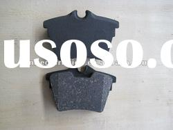 D1486 car brake pad Semi/Low metallic/NAO material