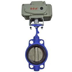 D971F Resilient Butterfly Valve with Electric Actuator