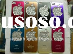 Diamond flash light case cover for iphone 4 4S LED colors changed