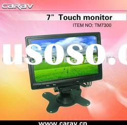 "Digital 7"" VGA Touch Screen Monitor with USB Touch Interface/ PC VGA/Car Camera RCA"