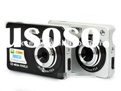 Digital Camera with Rechargeable Li-ion Battery BQ-500C3G
