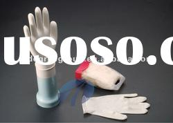 Disposable latex examination gloves for hospital use
