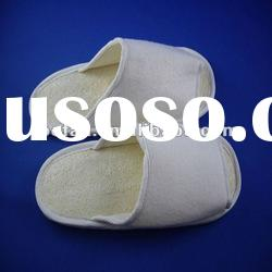 Disposable loofah slipper for hotel