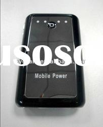 Dual USB Portable Mobile 6600mah power bank for iphone