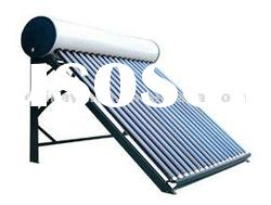 Evacuated tube compact solar water heater