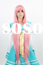 Extra long pink straight wigs/Long cosplay straight party wigs(BSFW-2203)
