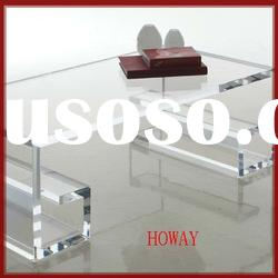 Fancy Clear acrylic coffee table,furniture coffee table,acrylic square coffee table