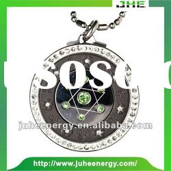 Fashion Design stainless steel nano energy pendant JHE0004