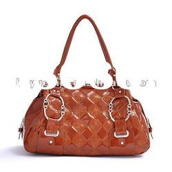 Fashion Designer Brand New Quilted PU Lady Tote Bag