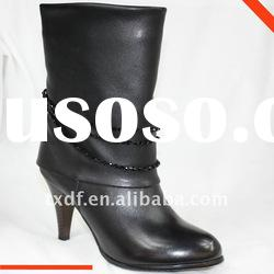Fashion Winter shoes for women's boots, crystal beads boots