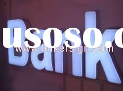 Fonrtlit LED channel letter signs with various customized design