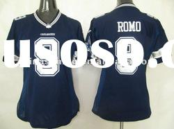 Free Shipping wholesale women american football jerseys Dallas cowboys 9 Romo Elite sport Jerseys