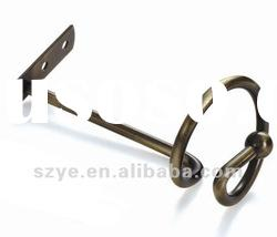G28 decorative metal curtain tie back hooks