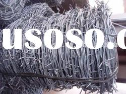 Galvanized Razor Barbed Wire (factory)