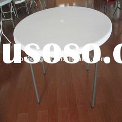 HDPE,Plastic folding round table(Dia 110cm Standing Table Round Table )