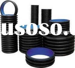 HDPE corrugated composite pipe for sewage