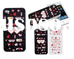 Hard plastic cover case pouch for Apple iPhone 4