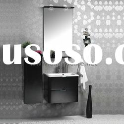 High Quality High Glossy Modern White Bathroom Cabinet Furniture Rita-90A