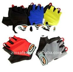High Quality Synthetic Leather Mountain Bike Gloves