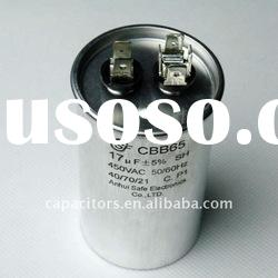 High Quality ac motor start capacitor 17uf