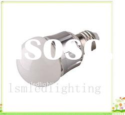 High quality dimmable 5W led bulb with E27 B22