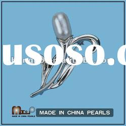 Hot Sale Natural Fashion Pearl Brooch Jewelry