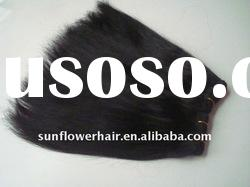 Hot sale yaki 100% indian hair weave