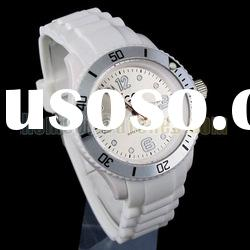 Ladies White Rubber Strap Wrist Watches (NBW0FA6376-WH3)