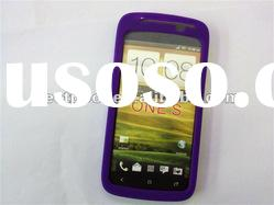 Larger in stock Silicone case cover for HTC ONE S Mixed colors