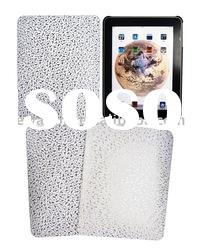 Leather back cover skin case for iPad