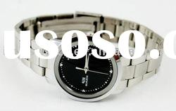 MOQ 500 /stainless steel band /unique design couple watch