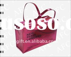 Metallic Laminated Non woven Shopping Tote with Zipper