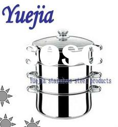 NEW stainless steel four-layer food steamer pot