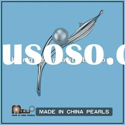 Natural Fashion Pearl Brooch Jewelry