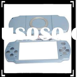 New And High Quality ! Front And Back Housing Case for PSP2000 Azury
