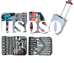 New Hand Tool Set In Combination Case