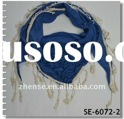 New Spring Summer Fashion Lace Triangle Scarf(SE-6072-2)