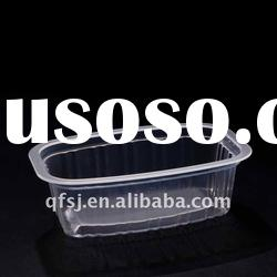New style vegetable Plastic container bowl for food packaging