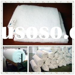 Non woven polyester batting for insulation material
