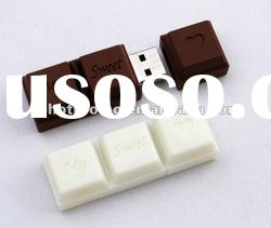Novelty shape usb flash drive, Chocolate Usb 2.0