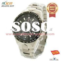 OEM Stainless steel fashion men watches with dial colours