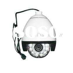 Outdoor Day/Night IP Dome Camera, Tracking Audio,Sony Exview CCD,Heater and Blower