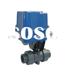 PVC Ball Valve With Electric actuator