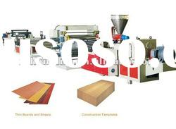 PVC Wood-Plastic Sheet Extrusion Line