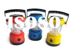 Plastic rechargeable LED small solar lantern for rural area